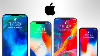 The 4 NEW iPhones for 2018!