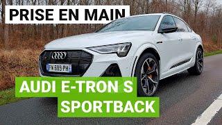 AUDI e-TRON S Sportback : un ogre de puissance