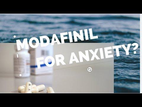 Modafinil For Anxiety?