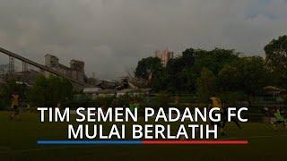 Latihan Hari Kedua Tim Semen Padang FC di Mess Indarung Dihadiri para Pendukung