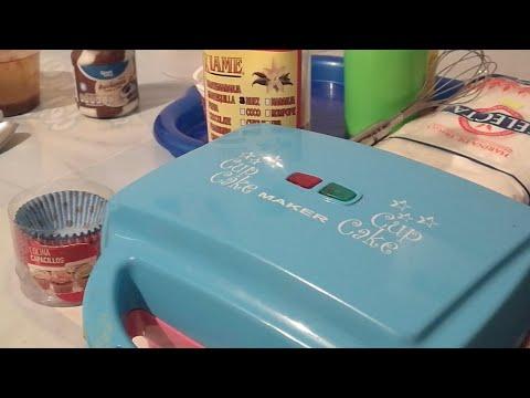 Cupcakes en máquina para cupcakes muffins mantecadas receta excelente para negocio