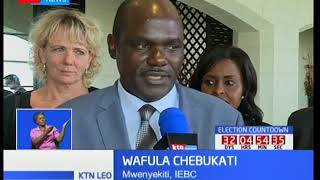 Ujumbe wa EU umetoa mapendekezo 18 ambayo wanasisitiza ni sharti yatekelezwe na IEBC