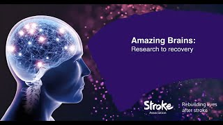 Fiona speaks at the Stroke Association's annual event at London's Science Museum.