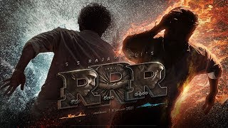 RRR Motion Poster – Telugu | NTR, Ram Charan, Ajay Devgn, Alia Bhatt, Olivia Morris | SS Rajamouli