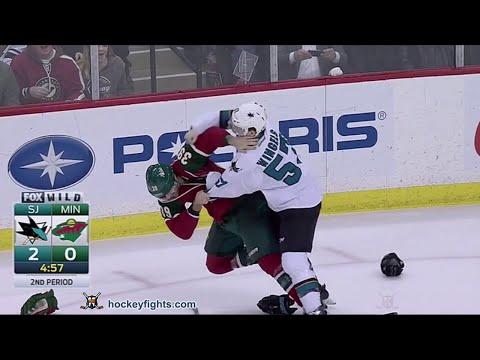 Nate Prosser vs. Tommy Wingels