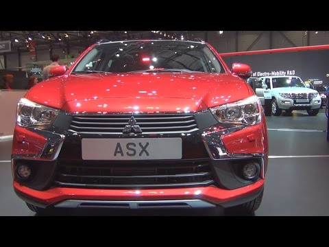 Mitsubishi ASX 4WD (2016) Exterior and Interior