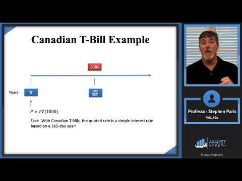 Simple Interest Example (Actuarial Exam FM – Financial ... - YouTube