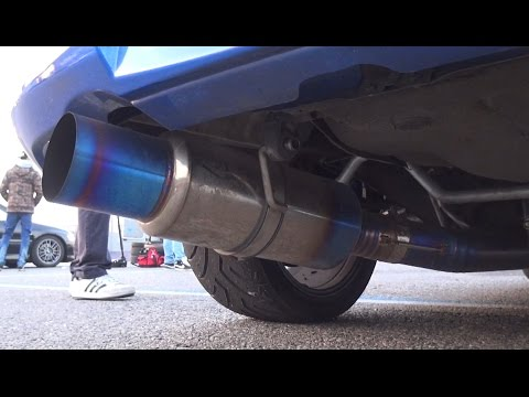 600HP Subaru WRX STI ft  Tomei Exhaust & Sequential Gearbox