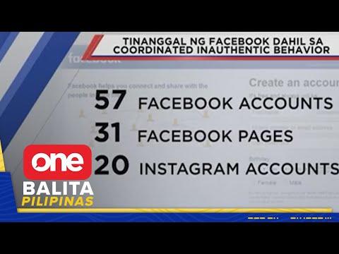 [News5]  Pekeng social media accounts at pages sa Pilipinas, tinanggal ng Facebook