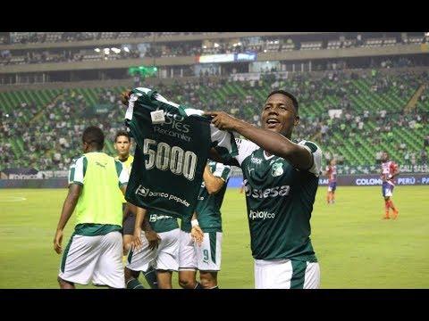 Crònica del gol 5000 del Deportivo Cali, Danny Rosero vs Union Magdalena, 19 de febrero 2019.