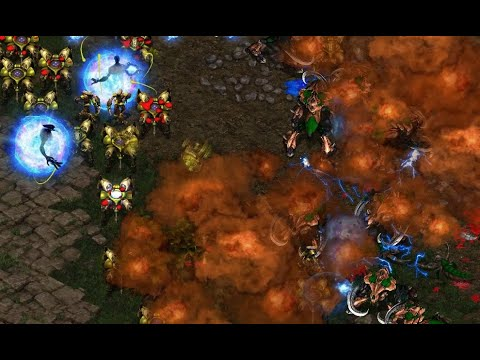 Terror (P) v Zealot (Z) on Fighting Spirit - StarCraft  - Brood War REMASTERED