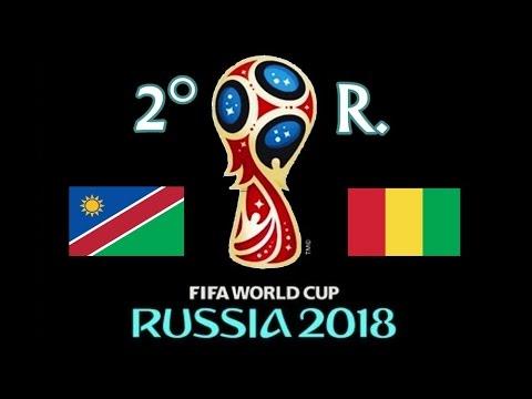 NAMIBIA v. GUINEA - CAF 2018 FIFA World Cup - 2° RONDA mp3