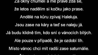 Xindl X - Štědrý večer nastal | lyrics text | HD