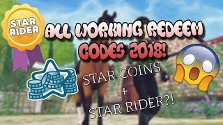 NEW WORKING REDEEM CODES! 2018 | Star Stable