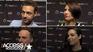 'The Walking Dead' Cast Teases The Season 7 Finale | Access Hollywood