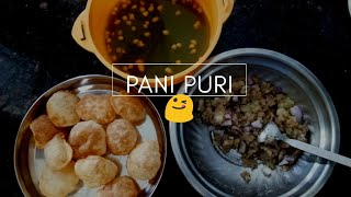 Pani puri in lockdown @Home 😋| easy recipe| quarantine craving| Indian street food recipes ❤