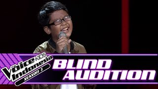 Gylbert - A Change Is Gonna Come | Blind Auditions | The Voice Kids Indonesia Season 3 GTV 2018