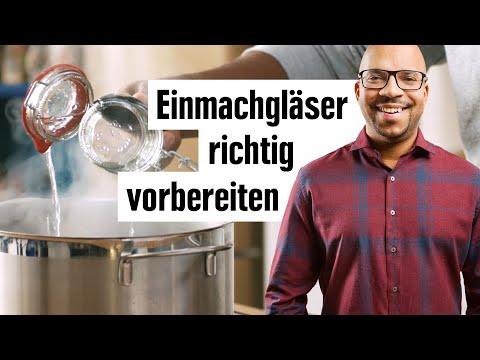 Einmachgläser sterilisieren | Gläser zum Einkochen vorbereiten | EDEKA