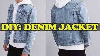 DIY: Denim Jacket From Scratch!