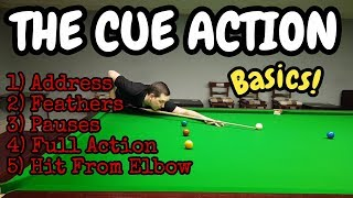 Snooker Cue Action - Snooker Coaching - Snooker Lesson
