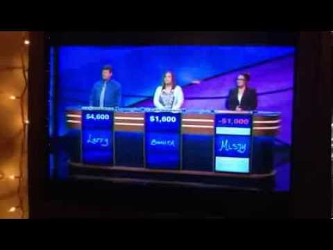 American Papist on Jeopardy