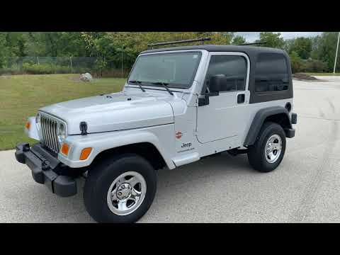 2003 Jeep® Wrangler Sport in Big Bend, Wisconsin - Video 1