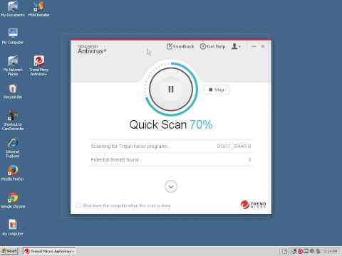 How To Remove Windows Virus With Trend Micro Antivirus