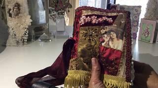 Gypsy / Boho Fabric Journal