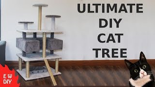 Ultimate DIY cat tree.
