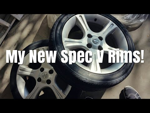 I Got New Nissan Sentra Spec V SE-R Wheels & Tires!