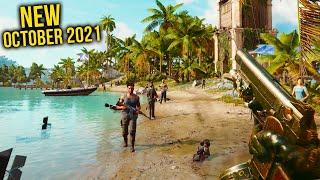 Top 10 NEW Games of October 2021