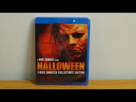 Rob Zombies Halloween blu-ray unboxing