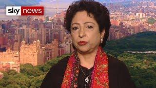 Kashmir lockdown: Pakistan's ambassador on Kashmiri residents 'not being alone'