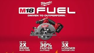 "M18 FUEL™ 6-1/2"" Circular Saw (Tool Only)"