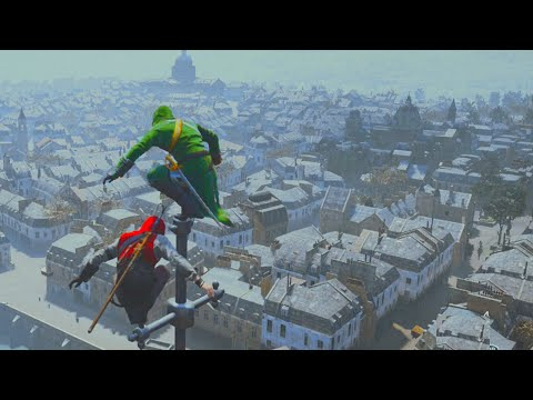 MAKING MONEY IN HEISTS! (Assassin's Creed Unity Funny Moments)