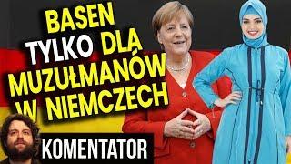"""Basen TYLKO DLA MUZUŁMANÓW w Niemczech – """"To Przejaw Integracji"""" – Analiza Komentator Pieniądze PL"""