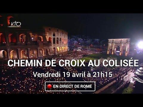 Chemin de Croix au Colisée à Rome