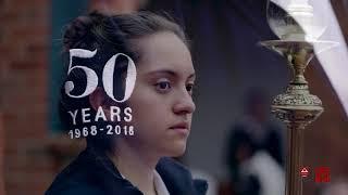 Procesión del Corpus Christi en los 50 años del Gimnasio Iragua