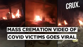 Outrage Over 50 Dead Bodies Of COVID-19 Patients Cremated At One Go In Hyderabad