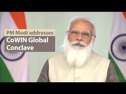 PM Modi addresses CoWIN Global Conclave 2021 | PMO