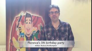 Florence's 5th birthday party
