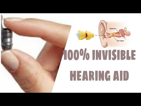 100% invisible #Hearing aids