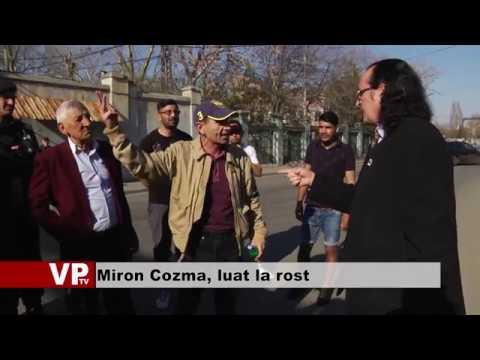 Miron Cozma, luat la rost