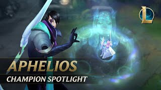 Aphelios Champion Spotlight | Gameplay - League of Legends
