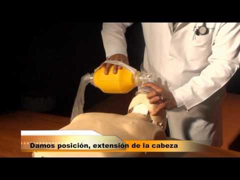 Aplicación de la Bolsa Válvula Mascarilla (BVM)