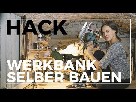 Ich baue mir eine Werkstatt!    IKEA Hack: Werkbank aus Küchenschränken einfach selber bauen