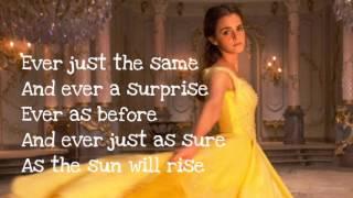 Beauty and the Beast - Lyrics (Ariana Grande & John Legend)