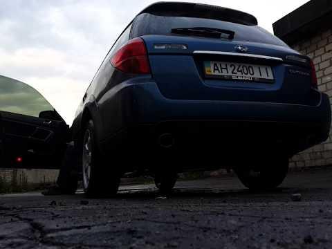 Subaru Outback exhaust sound
