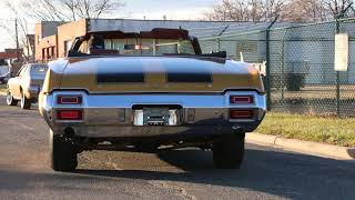 $14,995 - 1971 Oldsmobile Cutlass Convertible For Sale ~ 442 Hood and Rear Bumper Rally Wheels