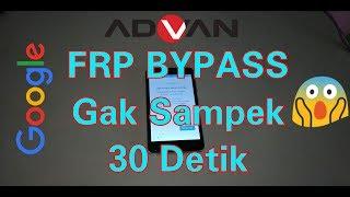 By Pass Google Account Advan S5E 4GS